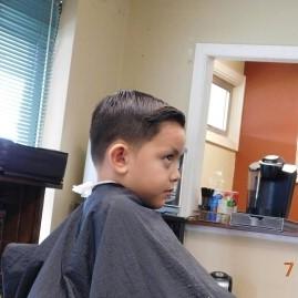 Bald Fade Haircut Kids 106